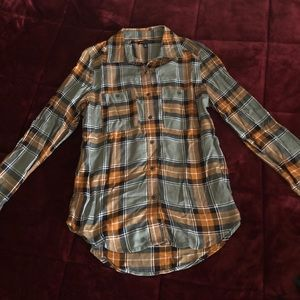 Kendall & Kylie Flannel/Top